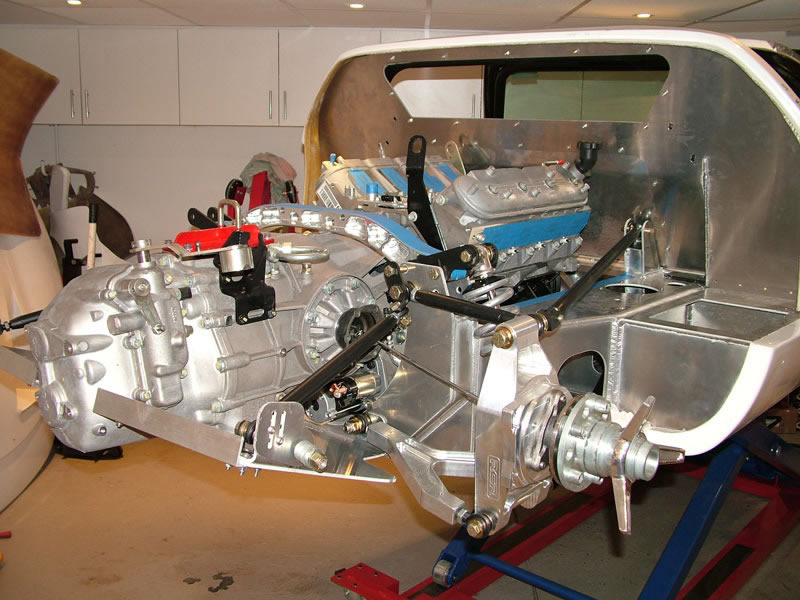 Preliminary Engine And Gearbox Fitment Positioning Of The Ford Gt